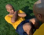 ćwiczący zawodnik